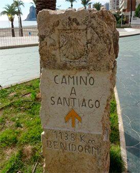 Camino de Santiago Benidorm